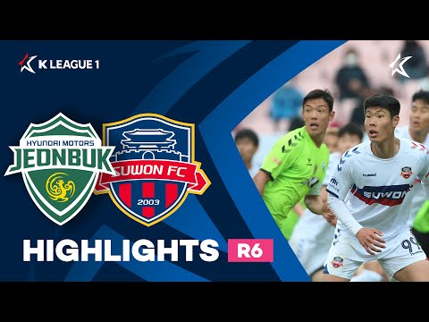 Jeonbuk Suwon City Goals And Highlights