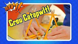 Sut i greu Catapwlt cartref! | Make your own Catapult!