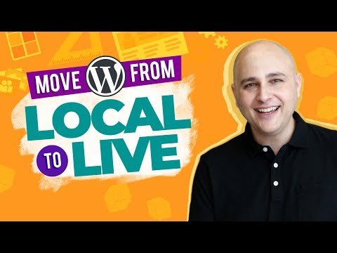 Move WordPress Website From Local To Live / Migrate To New Web Hosting Or New Domain Name
