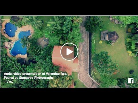Aerial video presentation of Valentino Resort and Spa (San Jose, Batangas near Lipa City) - in 4K