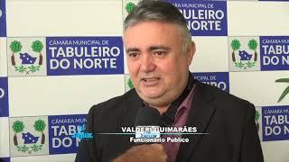 Valderi Guimarães fala da honra em receber o titulo de cidadão Tabuleirense