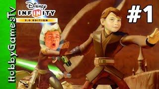 Star Wars Infinity 3.0 Disney Mission 1 HobbyPig HobbyGamesTV