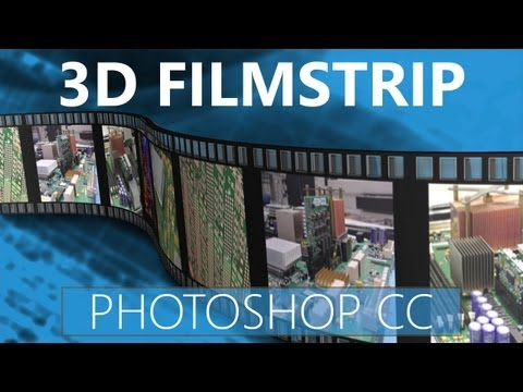 3D Filmstrip Effect In Photoshop