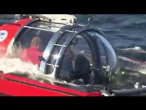 Путин В.В. участвует в  тест-драйве подлодки C-Explorer 5