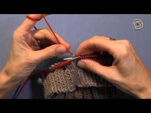 Projekt: Stricken einer Mütze, Teil 2 – Arbeiten von Streifen