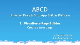 ABCD Visualforce-Builder 2 : Maak een nieuwe Pagina