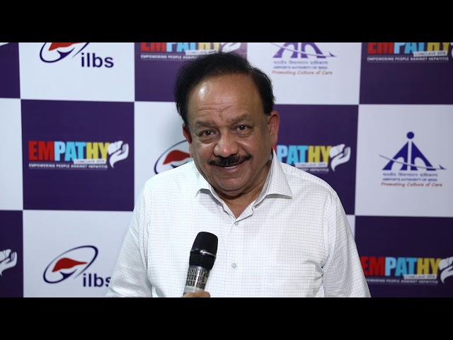 Dr Harsh Vardhan at Empathy Conclave 2019