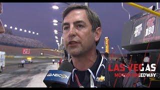 Randall Burnett explains decision to stretch fuel | NASCAR Xfinity Series at Las Vegas