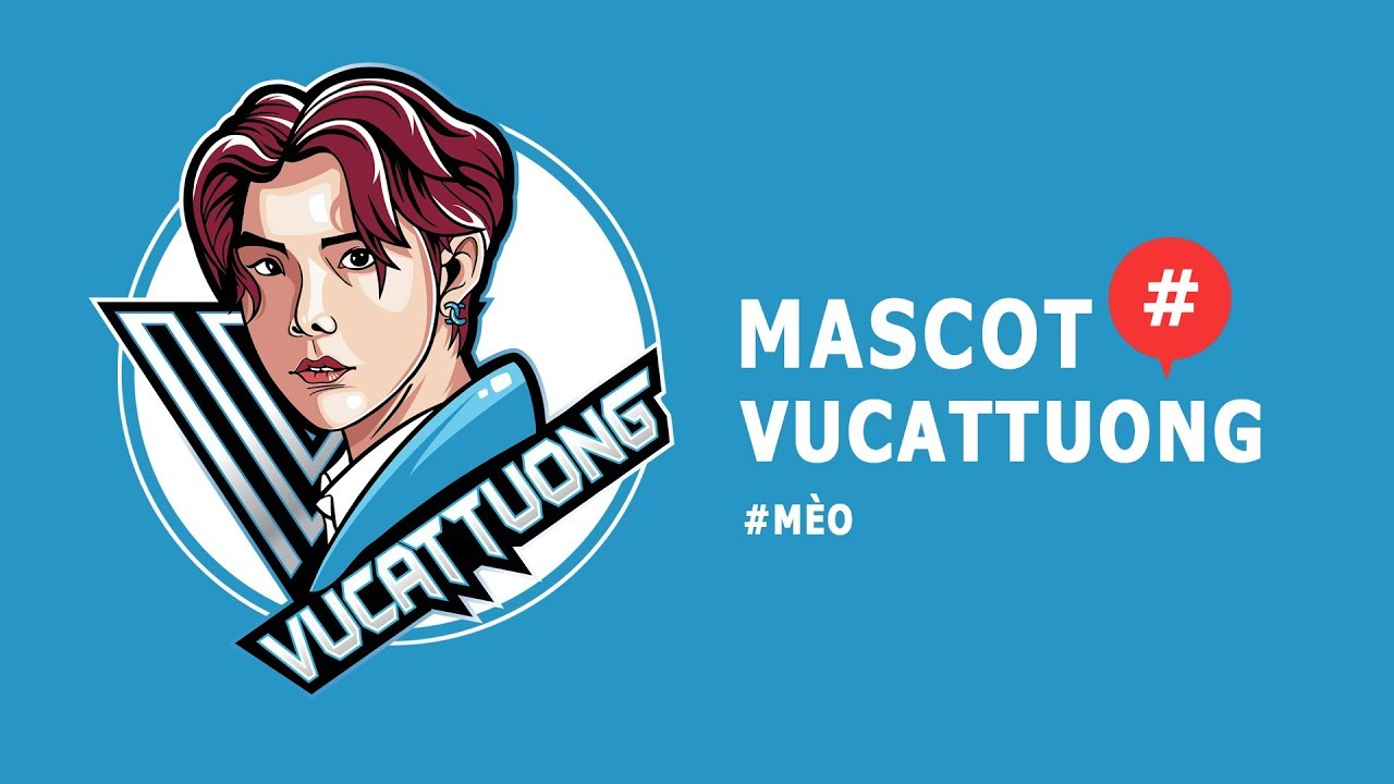 #02 MaScot Logo Design Illustrator Tutorial | #VũCátTường |Esport logo