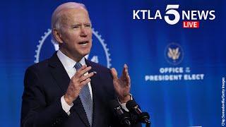 President-elect Joe Biden introduces new members of his economic team