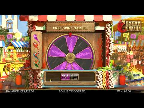 Extra Chilli Slot Big Win BTG Max Stake £2000 Buy A Bonus 24 Spins