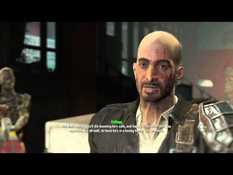 Fallout 4 - Meeting with Kellogg
