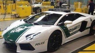 Lamborghini Aventador Among Luxury Police Vehicles At UAE Motor Show
