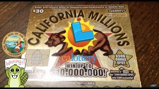 Video-Search for california scratch off tickets