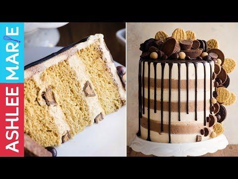 Ultimate Peanut Butter Cake Recipe - Peanut Butter Frosting