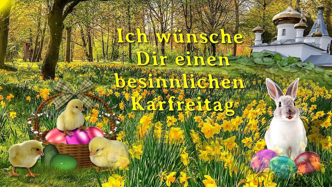 Ostern Karfreitag