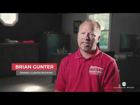 Charles M. Moore Insurance - Gunter Roofing