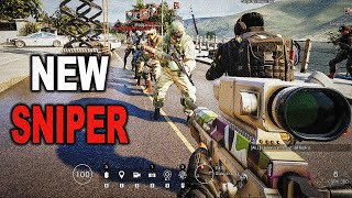 KALI Sniper Collateral Test + Gameplay! - Rainbow Six Siege Operation Shifting Tides