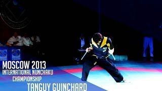 Int. Nunchaku tournament Moscow 2013 - Tanguy Guinchard - 1st place