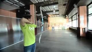 Стрельба из лука в клубе Варяг