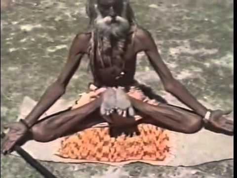 Extreme Yoga Poses Mastered by a Yogi in Kumbhmela