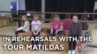 ITV Meet the Tour Matildas | Matilda The Musical