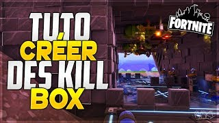 Fortnite: How to Create Killboxes on Fortnite Save the World - #1 tutorial / The Traps!
