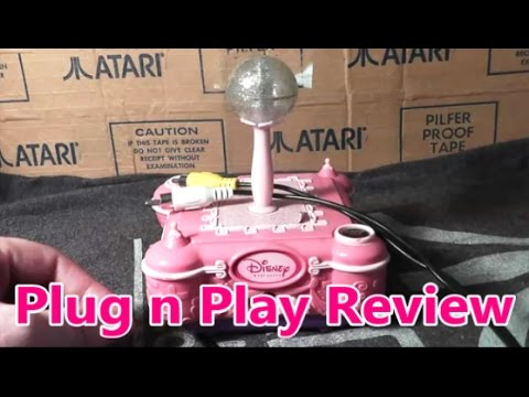 Disney Princess Plug N Play Review The No Swear Gamer Ep 289