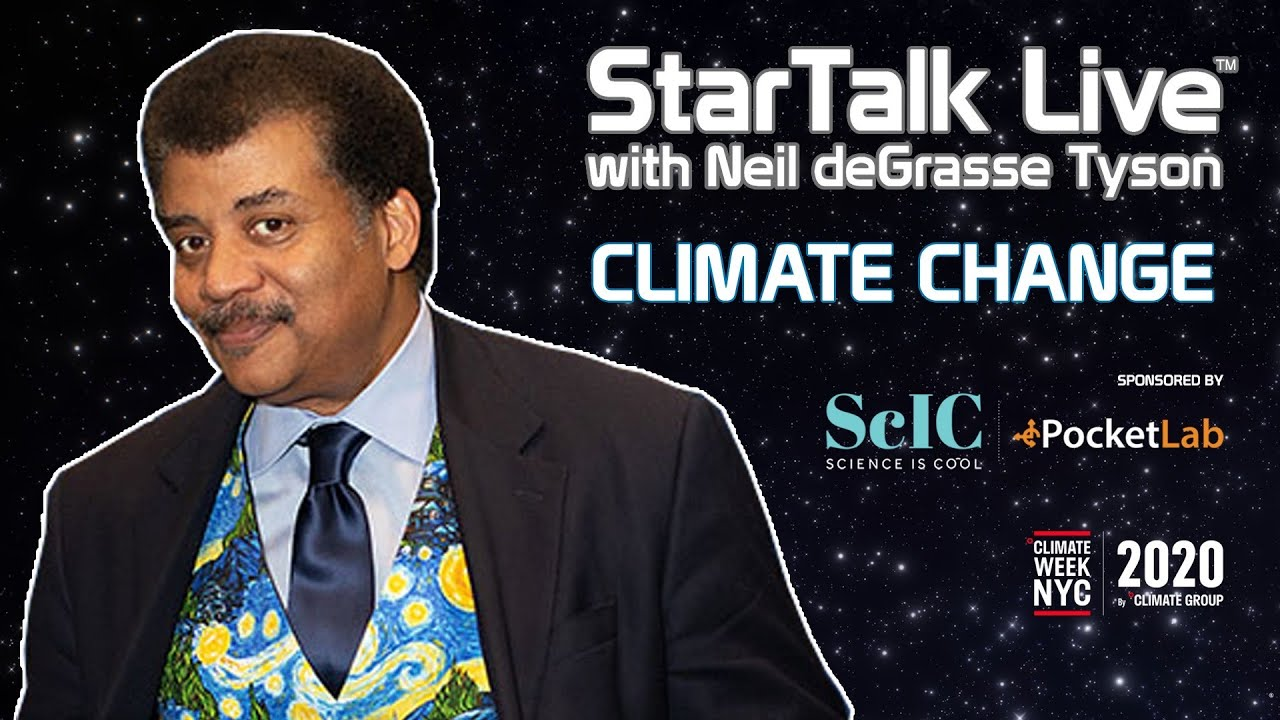 Download StarTalk Live: Climate Science, with Neil deGrasse Tyson & Special Guests