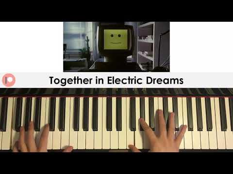 Philip Oakey & Giorgio Moroder - Together in Electric Dreams (Piano Cover)   Patreon Dedication #306