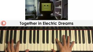 Philip Oakey & Giorgio Moroder - Together in Electric Dreams (Piano Cover) | Patreon Dedication #306