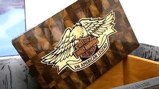 Эмблема Harley Davidson: удачная попытка