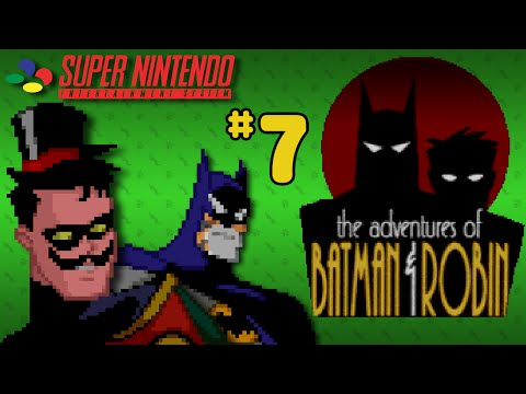 The Adventures Of Batman & Robin (SNES) - Part 7: Low-Speed Chase - Octotiggy