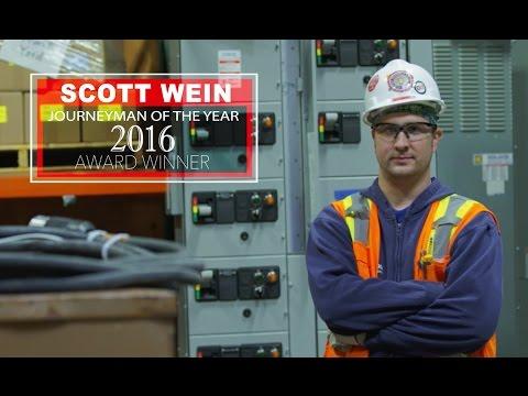IBEW Hour Power Journeyman Mentor of the Year 2016