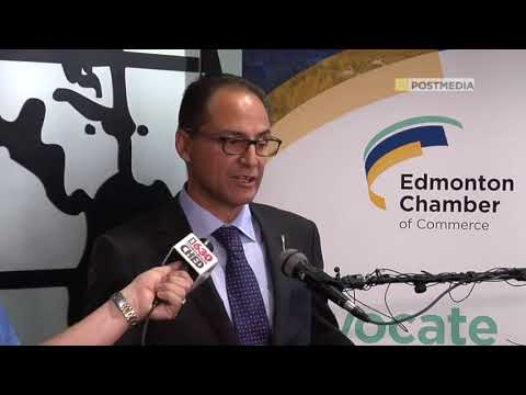 Finance Minister meets with Edmonton Chamber of Commerce