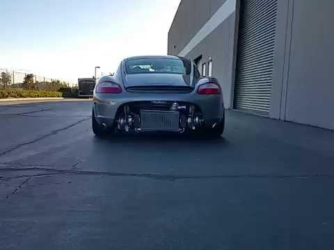 Antilag On 481hp Bisimoto Twin Turbo Porsche Cayman