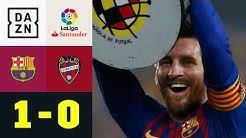 Lionel Messi schießt Barca zum 26. Titel: FC Barcelona - UD Levante 1:0 | La Liga | DAZN Highlights