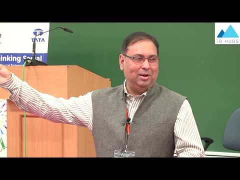 Creating a Social Entrepreneurship Ecosystem - Subrangshu Sanyal, IIM Calcutta Innovation Park