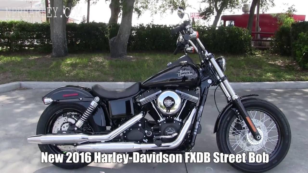2016 harley davidson fxdb street bob - new 2017 street bob specs