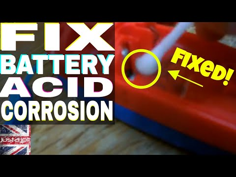 How to clean battery acid corrosion in electronics - Wii remote repair