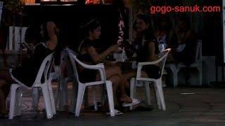 Traveling alone in Pattaya 2018-Soi Diana, Pattaya City Walk, Second Road Walking