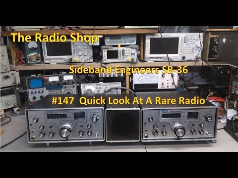 #147 Quick Look at a rare radio SBE sb-36