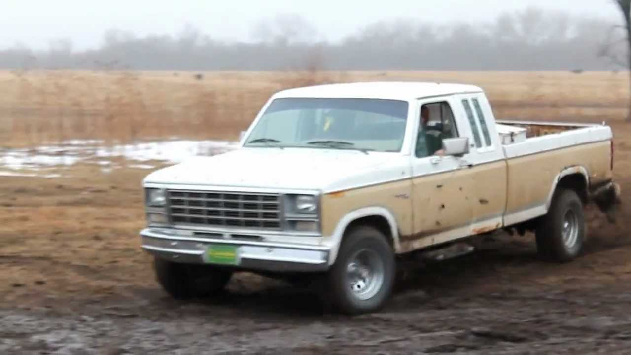 1980 ford ranger f150 mudding