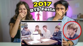 BTS FESTA 2017 - First Time Couples Reaction!