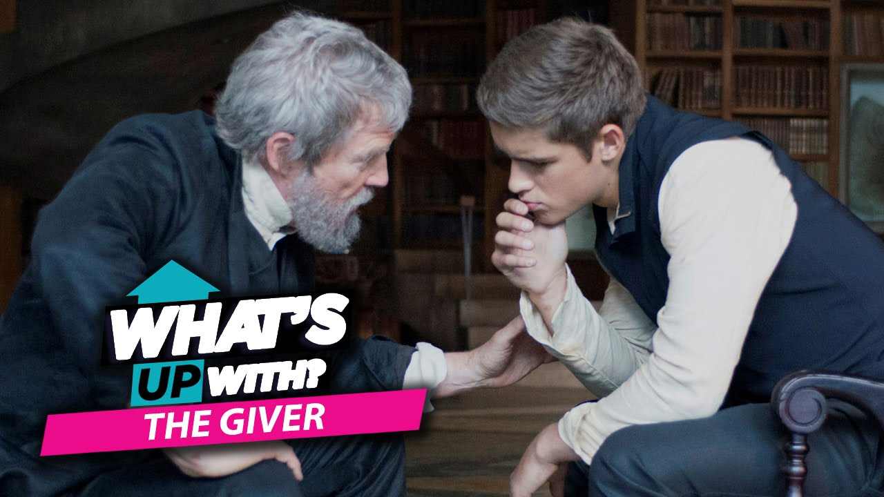 the giver book report questions
