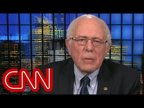 Sen. Sanders: Trump's 'shithole' comment appalling