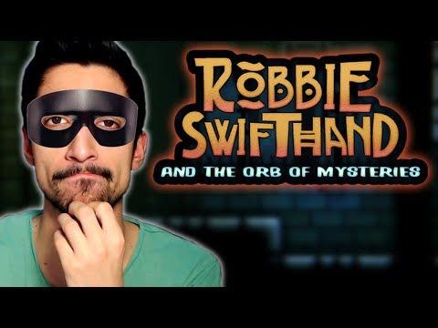 Υπομονή κι επιμονή - Robbie Swifthand and the orb of mysteries