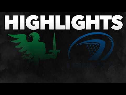 Guinness PRO14 Round 6: Connacht Rugby v Leinster Rugby Highlights