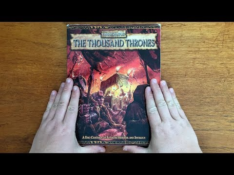 1000 Subscriber Special!  The Thousand Thrones For WFRP 2E By Black Industries