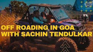 Off Roading in Goa with Sachin Tendulkar | Apollo Bad Road Buddies | Sahil Taksh
